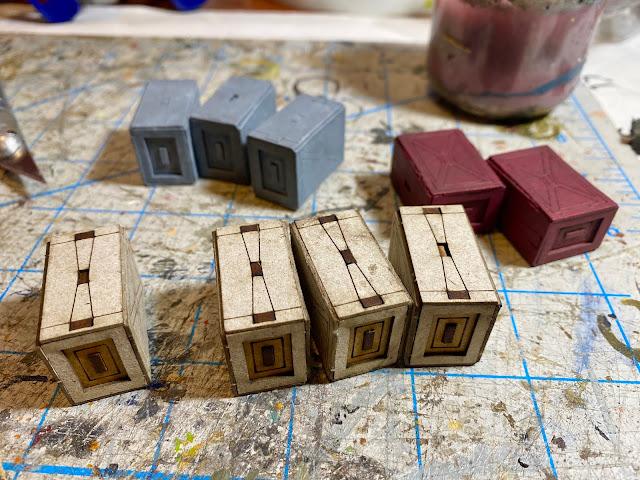 Sarissa Landing Pad & Dock Set S144 Star Wars Legion