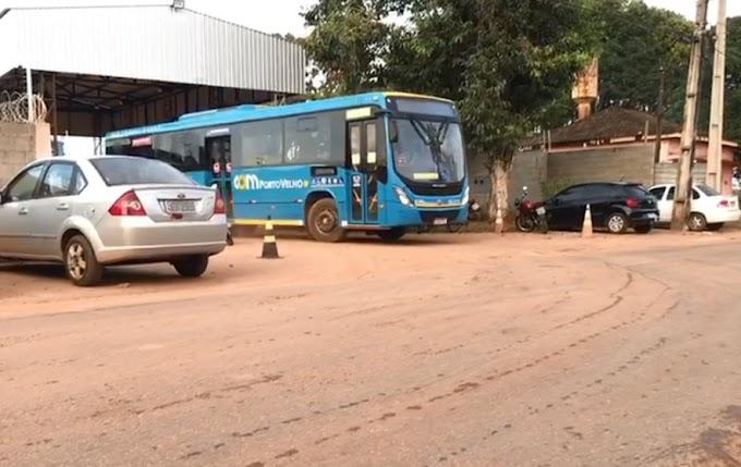 TRANSTORNO: Transporte coletivo é paralisado no início da manhã desta terça em Porto Velho