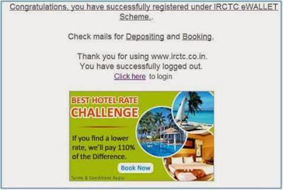 IRCTC eWALLET Registration, eWallet IRCTC Registration, IRCTC e-Wallet Login, IRCTC e-Wallet, e-Wallet IRCTC
