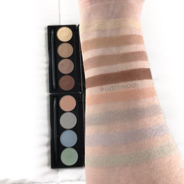 Gabriel Cosmetics Classic Palette II Daydream swatches  |  Lusterhood
