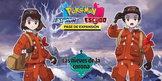 """Pokémon Espada y Escudo anuncia la fecha de lanzamiento de su segundo DLC """"Las Nieves de la Corona"""""""