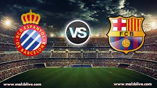 مشاهدة مباراة برشلونة واسبانيول بث مباشر اليوم بتاريخ 25-01-2018 كأس ملك إسبانيا