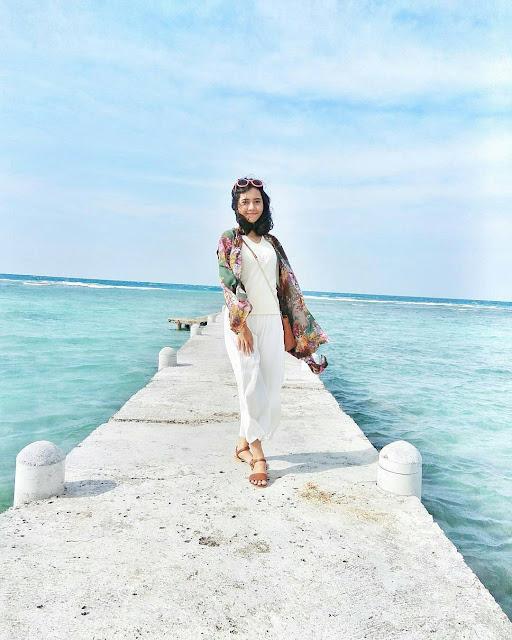 Berbagai Spot foto instagramable yang ada di pulau biawak Indramayu