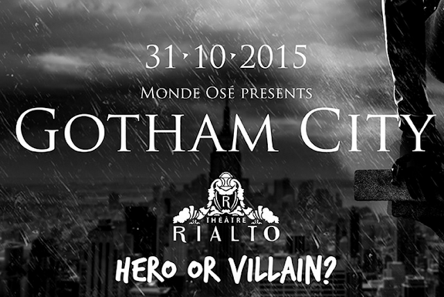 Monde Osé Gotham City Hero or Villain
