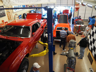 Scottsdale AZ Auction Week Open House at Anghel Restorations - Shelbys, Cobra Jets, Boss Mustangs and More!