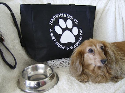 Dog Themed Tote Bag