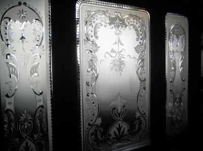 Витражи Волгоград - травление стекла кислотой