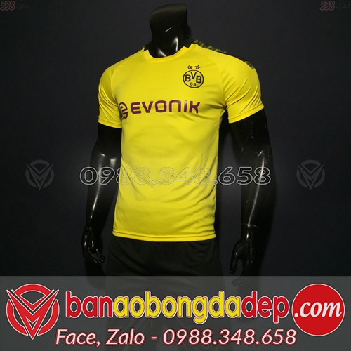 Áo Dortmund Vàng 2019 2020 Sân Nhà