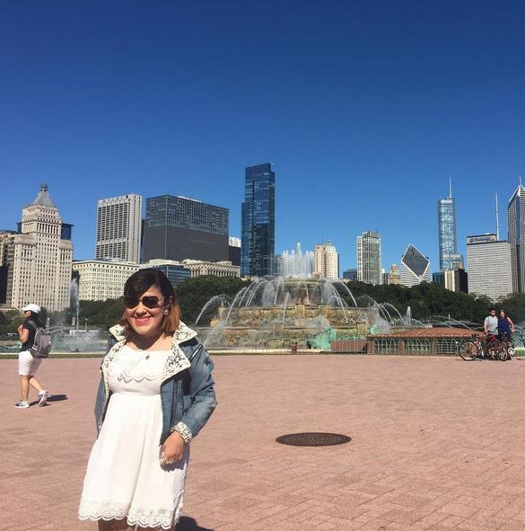 Buckingham Fountain à Chicago