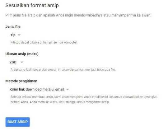 Cara Mengunduh Data Anda Dari Google+