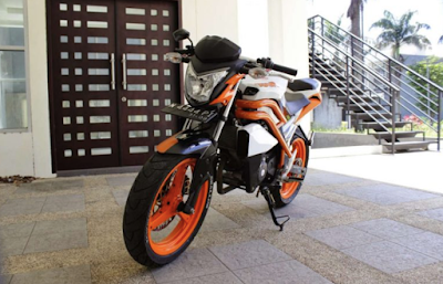 Modif Motor CBR 150R Streetfire Honda