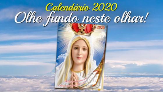 calendário nossa senhora de fátima 2020 grátis