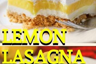 Lemon Lasagna