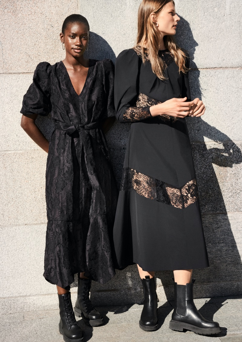 Amie Jeng and Adela Stenberg front H&M fall 2020 campaign.