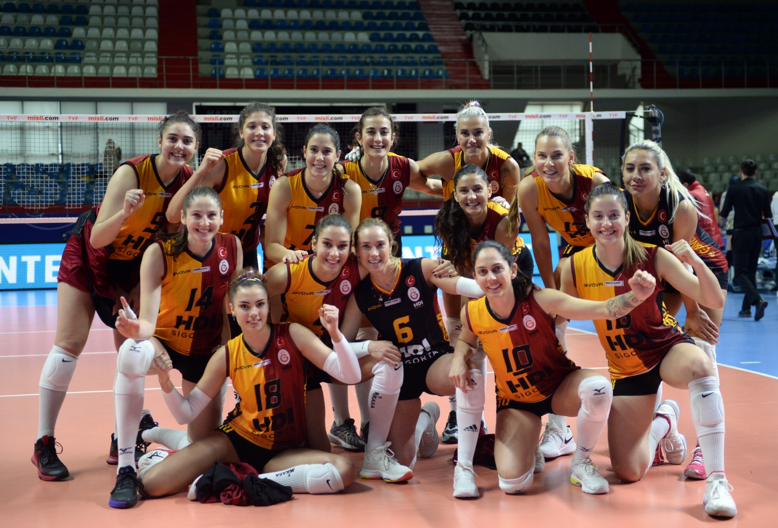 Sultanlar Ligi   Galatasaray'dan rahat galibiyet!