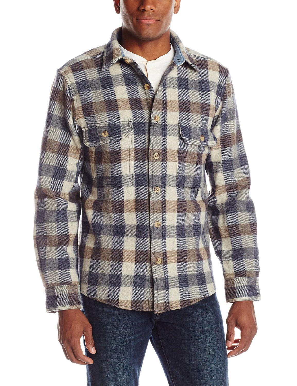 d7338e3e01c1d Camisa de lana para hombres