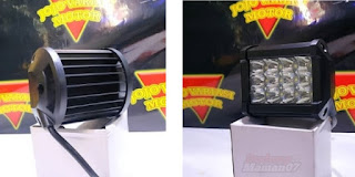 Model Lampu LED 12 Mata