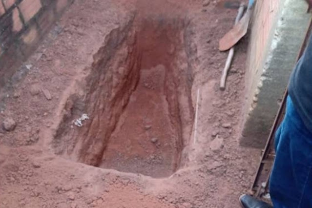 Bandido abre cova e depois tenta matar eletrotécnico para roubar