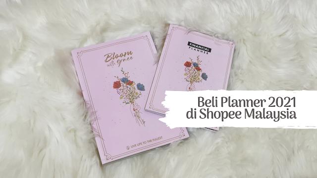 Beli Planner 2021 di Shopee Malaysia