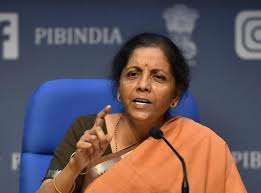 Finance Minister Nirmala Sitharaman press conference