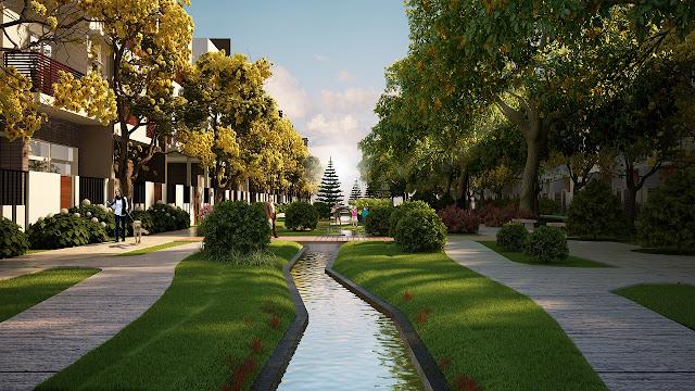 Walkway Garden - Đường hoa