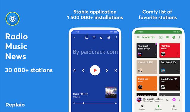 Replaio Live Premium Mod Apk