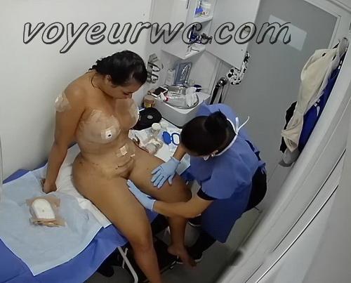 Hidden hospital cameras filmed women during postoperative procedures (Postoperative Procedures 01-06)