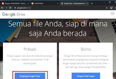 Cara Upload / Simpan File Di Google Drive Melalui PC dan Android