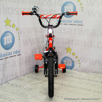 Sepeda Anak Wimcycle Bomber BMX 16 Inci Orange
