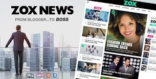 Zox Notícias - Tema profissional de notícias e revistas em WordPress