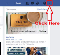 how to logout of facebook on someone else's phone