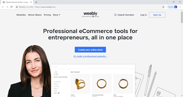 Weebly (https://www.weebly.com/)