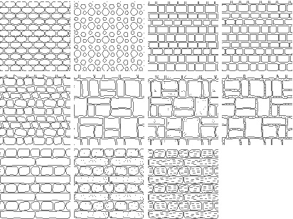 Free Autocad Stone Hatch Patterns 4free Autocad