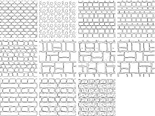 Free Autocad Stone Hatch Patterns 4free Autocad