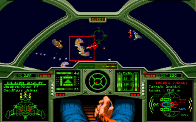 Indie Retro News Wing Commander Ii Cola Powered Gamer Reviews A