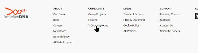 FTDNA Y-DNA Haplotree