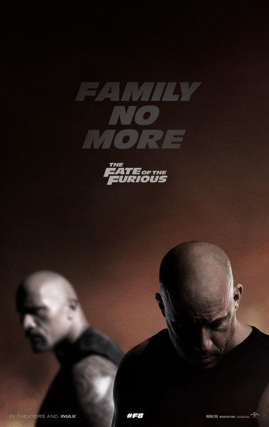 The Fate of the Furious / Fast And Furious 8 Poster