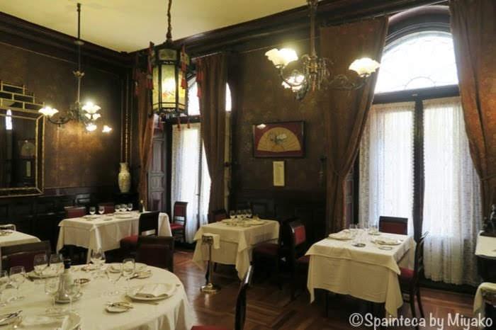 Lhardy マドリードの老舗コシードレストランの日本の間