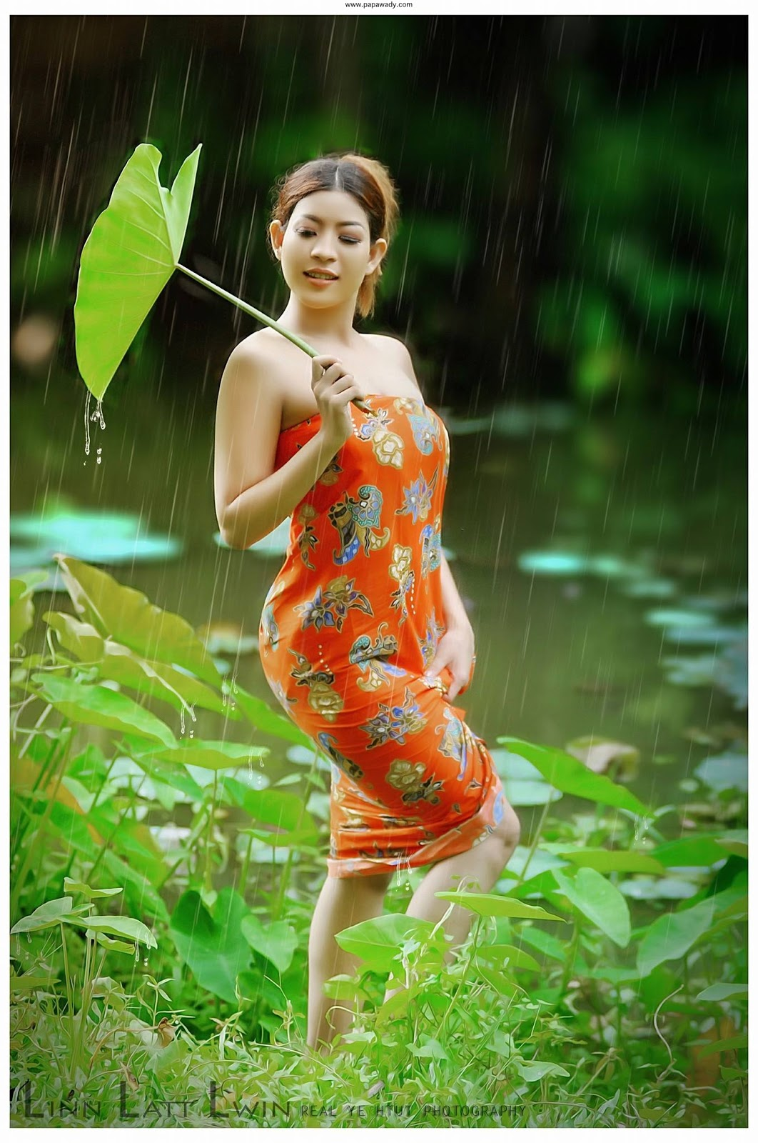 Lin Latt Lwin Outdoor Photoshoot Album 2