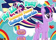 Twilight Sparkle Rainbow Power Style