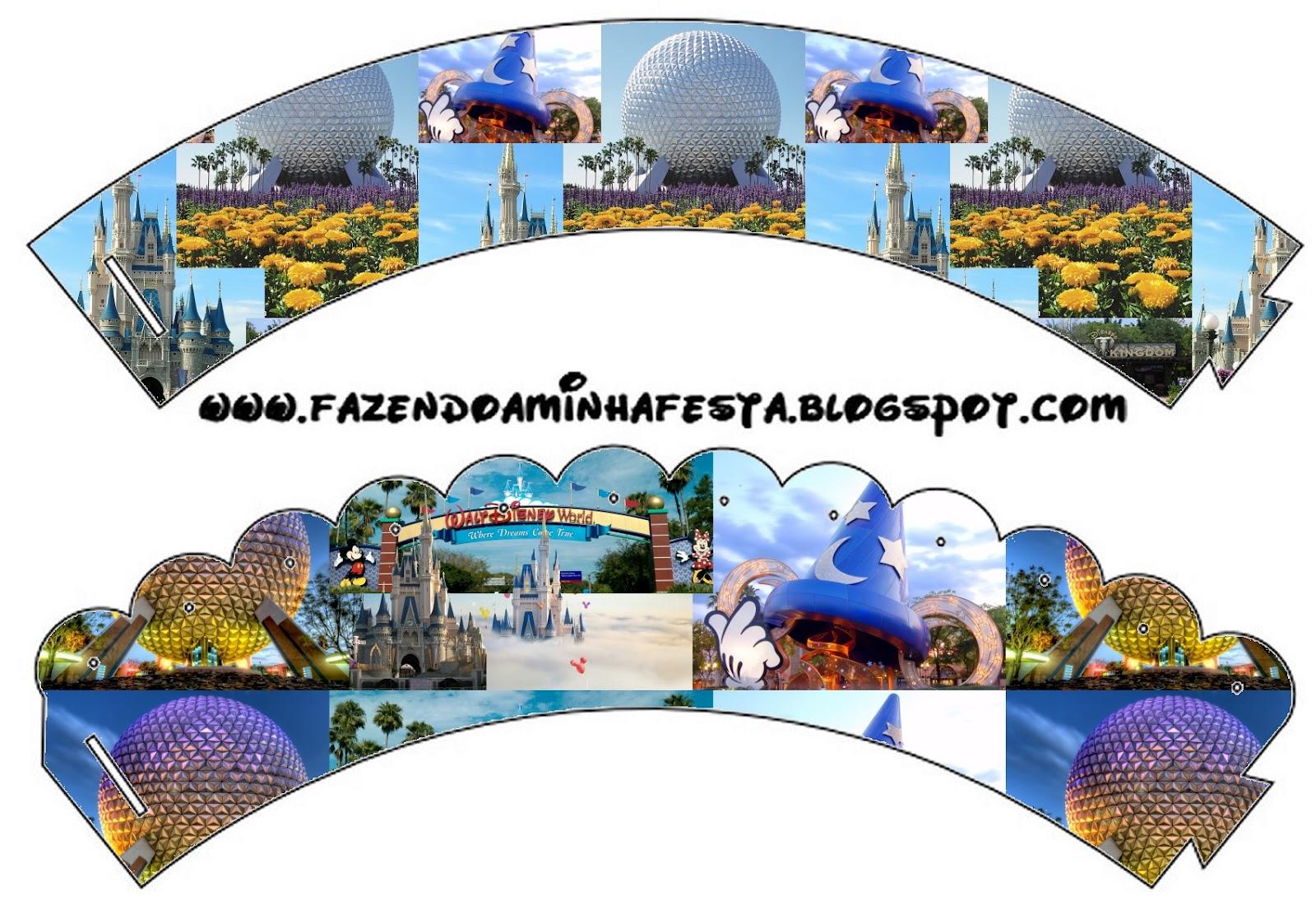 Walt Disney World Free Party Printables