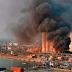 Otro Video aparatoso incendio en uno de los almacenes del puerto de Beirut