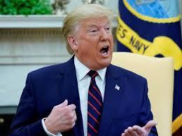 """Donald Trump, dijo que estaba hablando """"sarcásticamente"""" cuando sugirió que las inyecciones con desinfectante"""