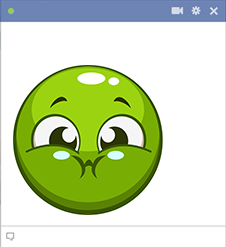 Green Smiley Icon