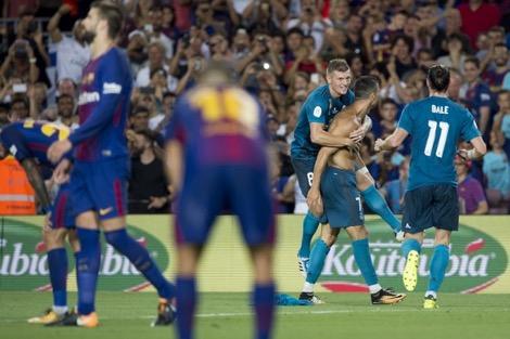 في أول لقاء ضد برشلونة بعد رحيل نيمار .. الريال يعانق الانتصار