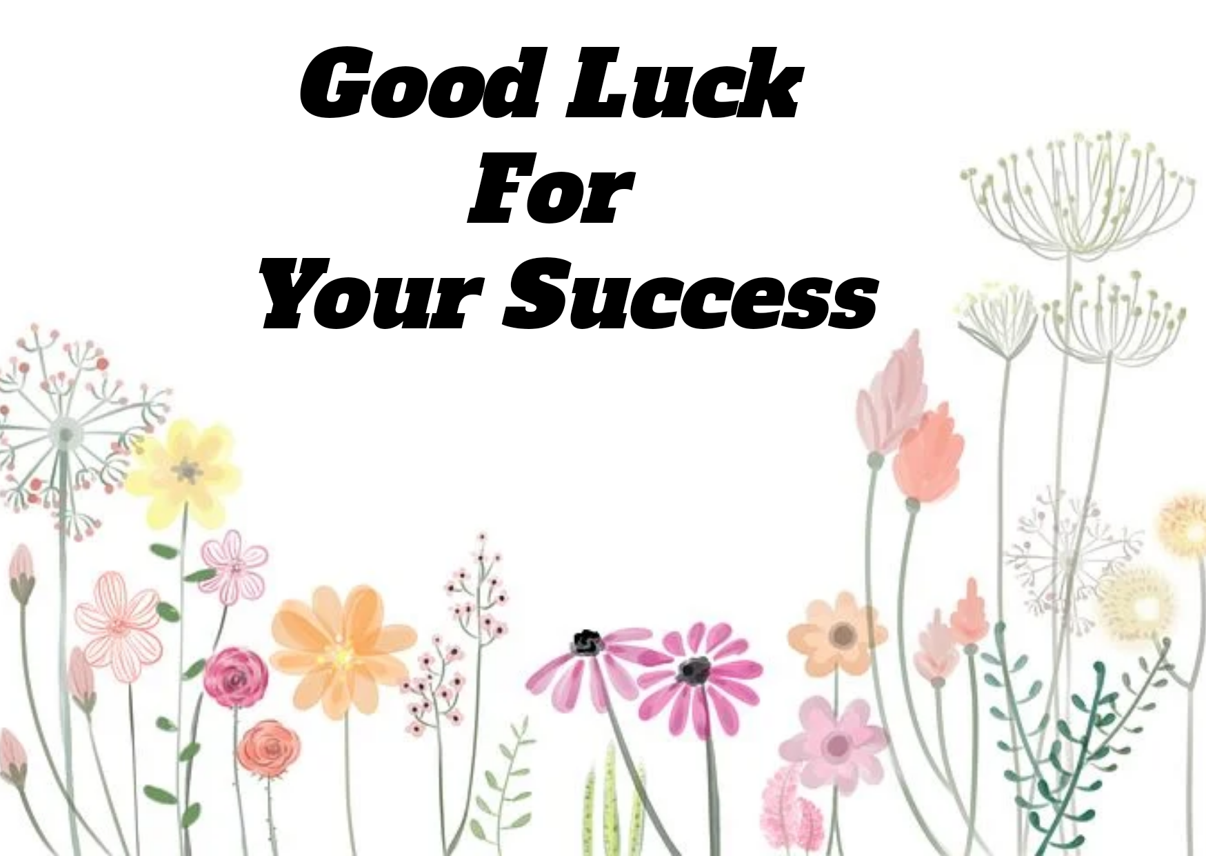 Good Luck Wishes, Status, Images, Quotes for Friends and WhatsApp,