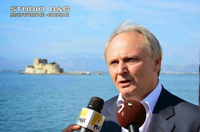 Ανδριανός στη Βουλή για τα έργα πολιτισμού στην Αργολίδα