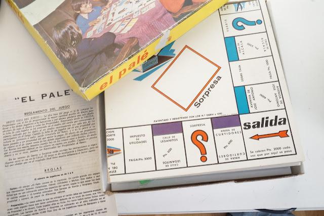 El Palé de G. Sonrima SL.  Juego de Sociedad que imita al Monopoly