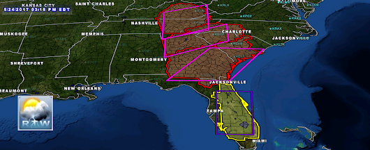 TORNADO WATCH FOR A PORTION OF NORTHERN FLORIDA STILL IN EFFECT