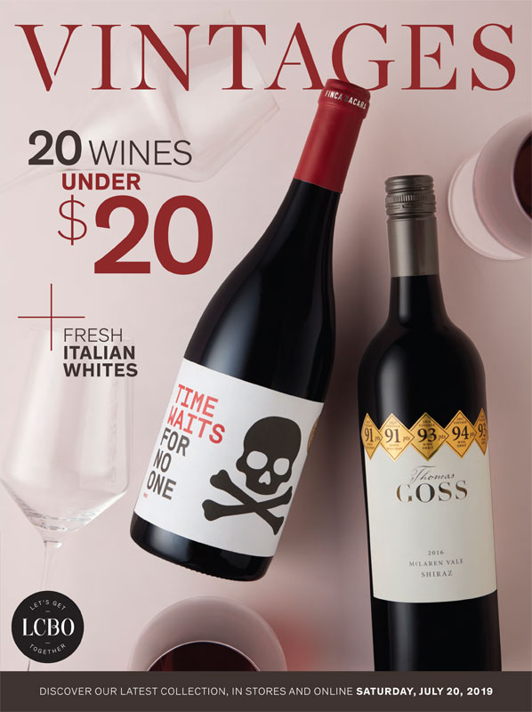 LCBO Wine Picks: July 20, 2019 VINTAGES Release
